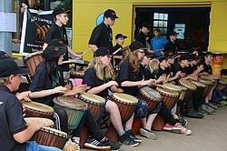 Trommelgruppe Förderschule Riesa