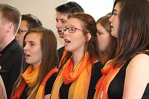 Chor bei Schulen Musizieren