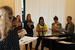 Singen im Workshop