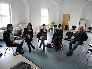 Workshop mit Beatrice Kuntzsch und Heiko Vogel