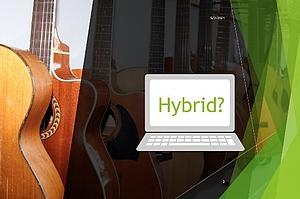 Musikunterricht Hybrid
