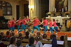 Tanzensemble der 12. GS Dresden