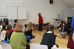 Workshop mit Bettina Küntzel