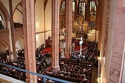 Konzertatmosphäre in der Kirche