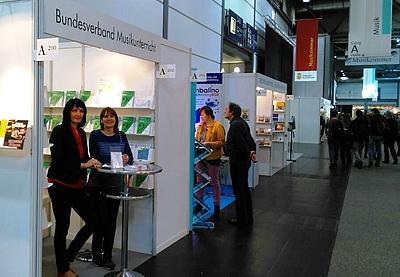 BMU-Stand auf der Leipziger Buchmesse