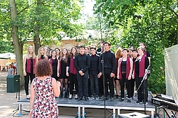 Chor des Gymnasium Delitzsch