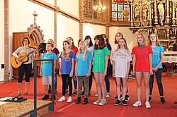 Ensemble der Oberschule Wittichenau