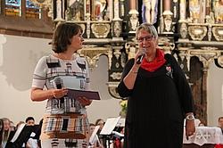 Christiane Hein und Angela Kitzing