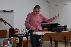 Workshop mit Ekkehard Vogler