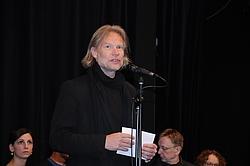 Georg Biegholdt bei der Eröffnung