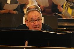 Meinhard Ansohn am Klavier